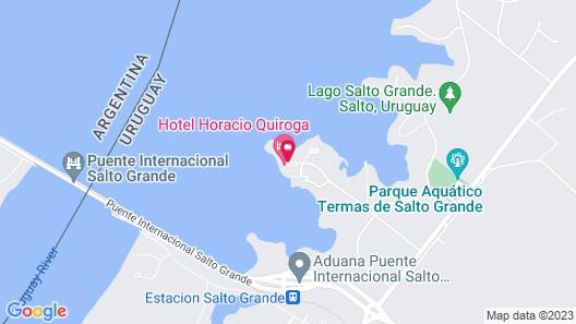 Horacio Quiroga Resort Termal Map