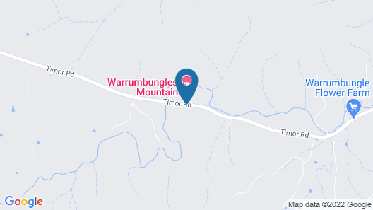 Warrumbungles Mountain Motel Map