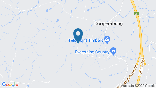 Telegraph Retreat Cottages Map
