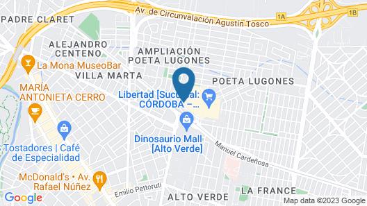 Holiday Inn Córdoba Map