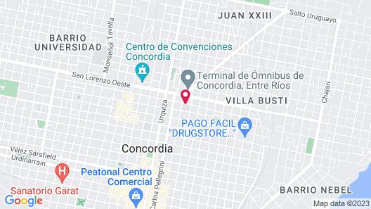 Hotel Salto Grande Map