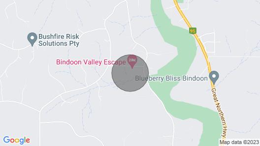 Bindoon Valley Escape Map