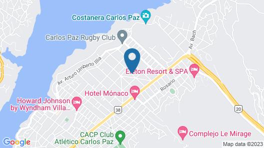 Cabañas la Aldea Map