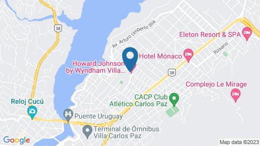 Howard Johnson by Wyndham Villa Carlos Paz Map