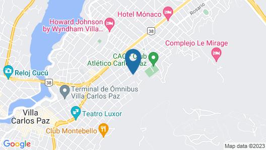 Pinares Panorama Suites & Spa Map
