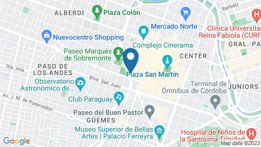 NH Córdoba Panorama Map