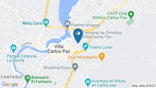Amérian Carlos Paz Apart & Suites Map