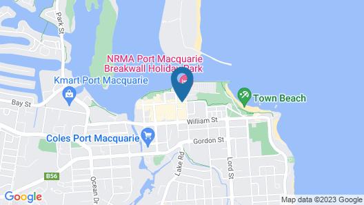Port Pacific Resort Map