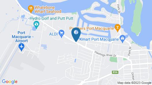 Port O'call Motel Map