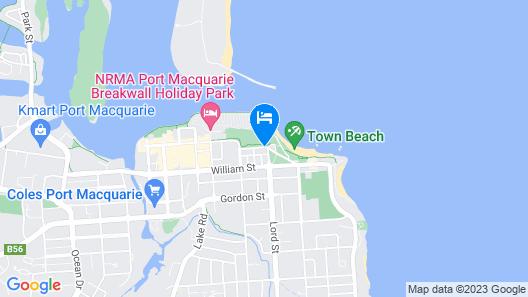 ibis Styles Port Macquarie Map