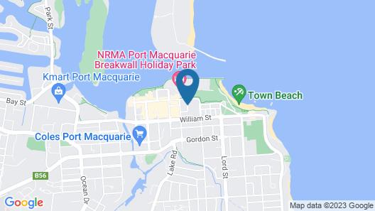 Port Aloha Motel Map