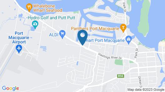 Macquarie Barracks Motor Inn Map