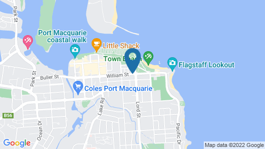 Town Beach Beachcomber Resort Map