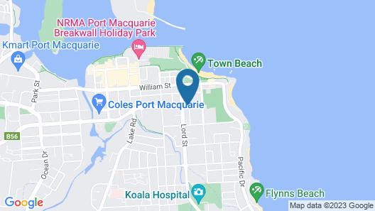 Town Beach Motor Inn Map