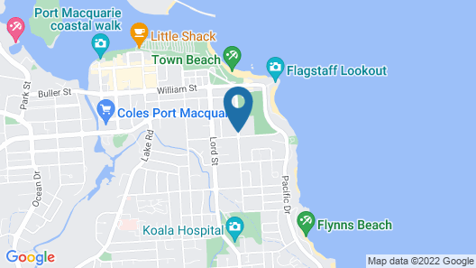 Oxley Cove Apartments Map