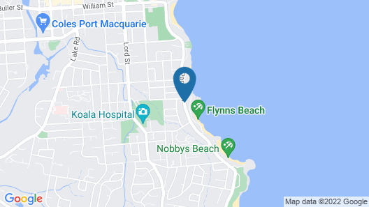 South Pacific Apartments Port Macquarie Map