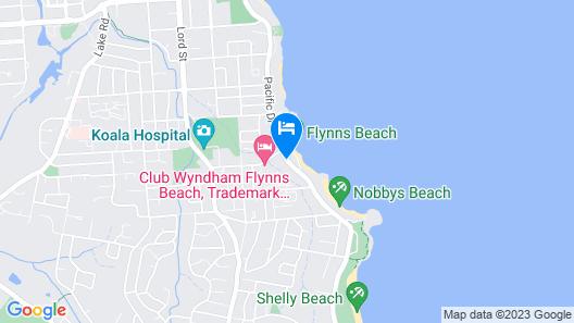 Beaches Holiday Resort Map