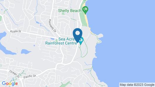 Shelly Beach Resort Map