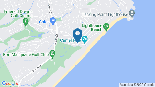Lighthouse Beach Holiday Village Map