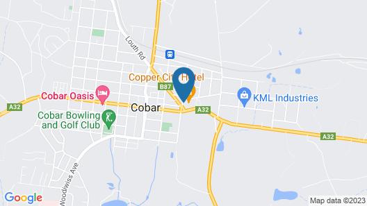 Copper City Motel Map