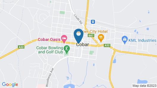 Cobar Motor Inn Map