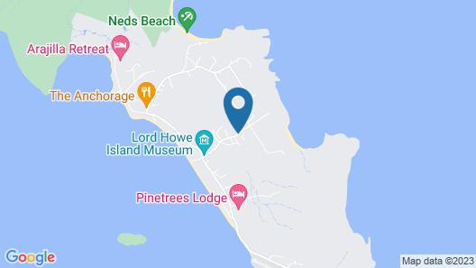 Leanda Lei - Lord Howe Island Map