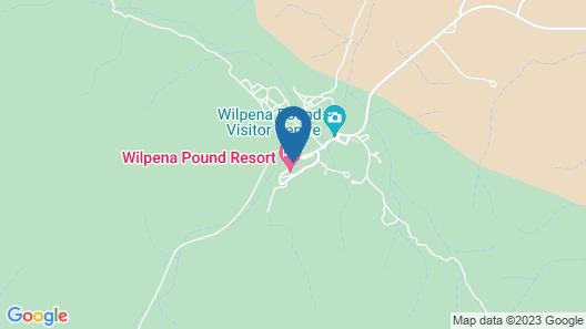 Wilpena Pound Resort Map