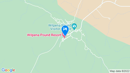 Wilpena Pound Resort Map