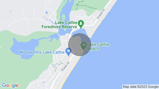 Beachfront 4- 4/12 Bundella Ave LC Map