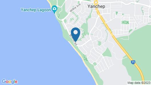Dog Beach Bungalow-oceanfront, Family/pet Friendly Map