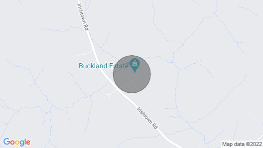 Glamping Tents Located on Buckland Estate Map