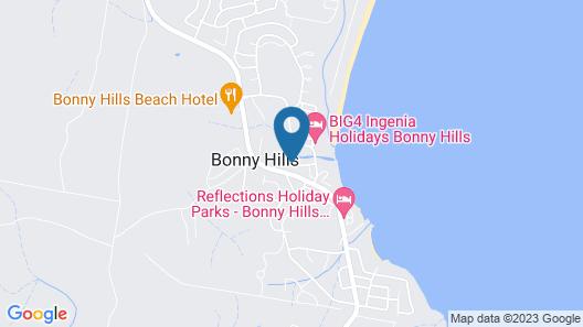 Bonny Beach House - With Pool Map