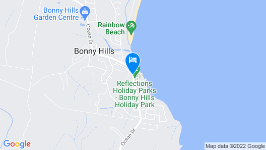 Reflections Holiday Parks Bonny Hills Map