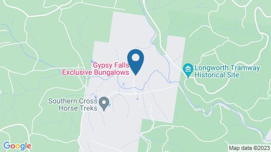 Gypsy Falls Retreat Map