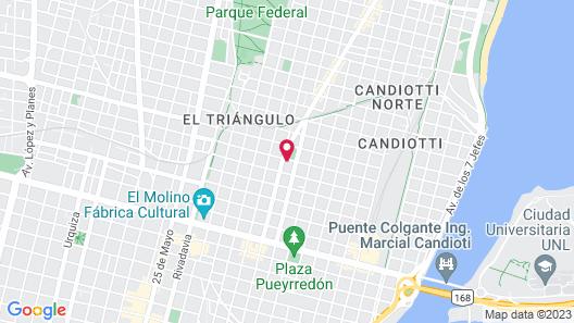 Hostel Hostal Caballito Blanco Map