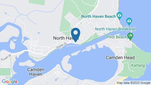 Woongarra Motel Map