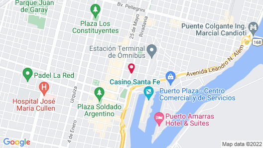 Hotel Hernandarias Map