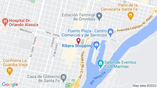 Castelar Hotel Map