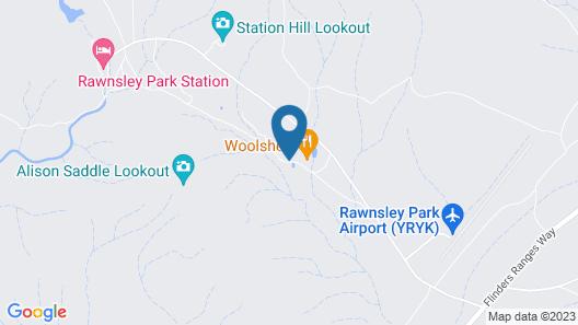 Rawnsley Park Station Map