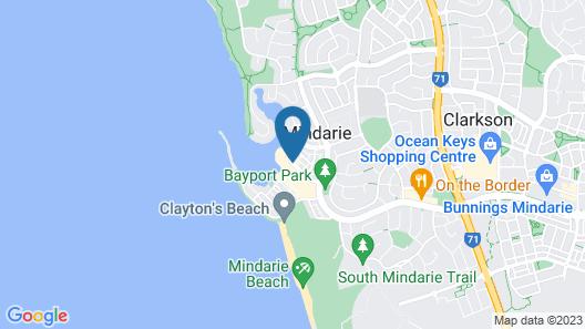 The Marina Hotel - Mindarie Map