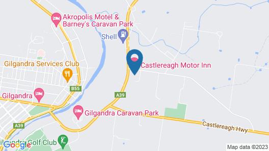 Castlereagh Motor Inn Map