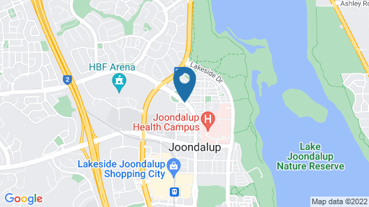 Joondalup City Hotel Map