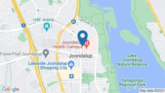 Joondalup Apartment Map