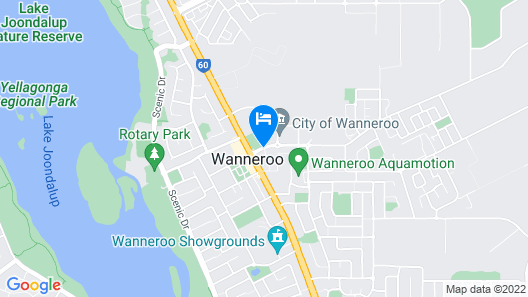 Nightcap at Wanneroo Tavern Map