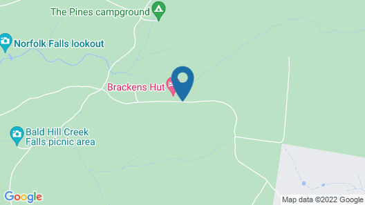 Brackens Hut Map