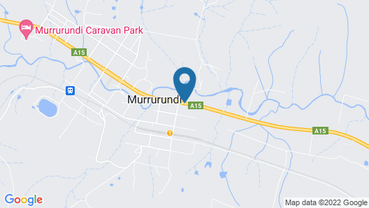 Murrurundi motel Map
