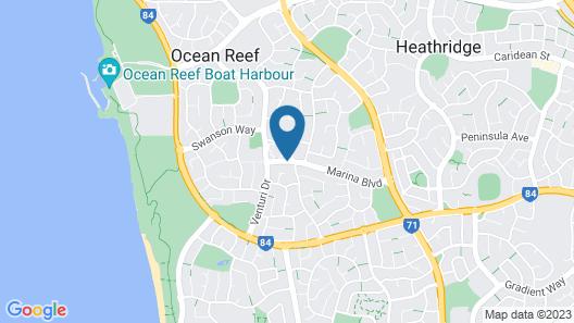 Ocean Reef Homestay Map
