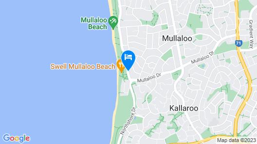 Mullaloo Beach Hotel & Apartments Map