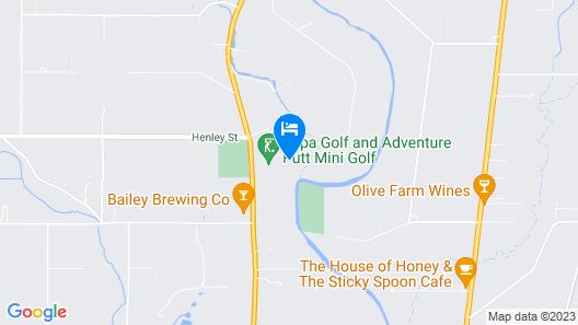 Swan Valley Oasis Resort Map