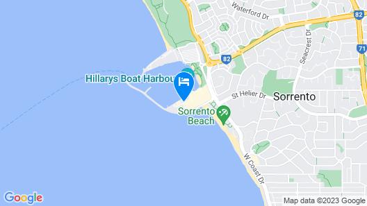 Hillary's Coastal Resort Map